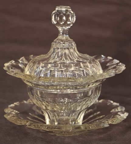 Antique Glassware For Sale Crystal Cut Glass Precious Vase Wine