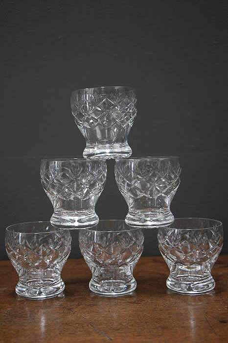 Antique Glassware For Sale Crystal Cut Glass Precious Vase